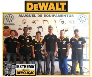Turma de agosto - Capacitação DeWalt em Bebedouro