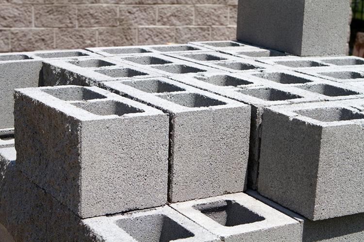 guardar os materiais de construção