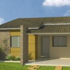 fachadas em casas pequenas e simples 4
