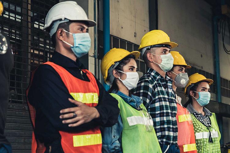 construção civil e coronavírus